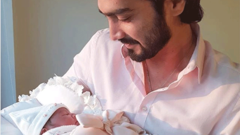 Model Mehreen Syed welcomes a baby boy - Celebrity - Images