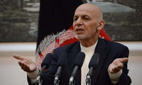 Ghani asserts his authority amid Afghan peace talks