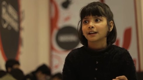 NESCAFÉ Basement revamped Surtaal Academy and discovered 8 year old Hadiya Hashmi. Here's how