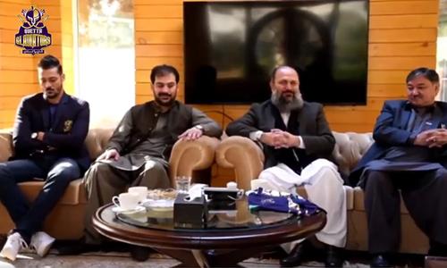 وزیرِاعلیٰ بلوچستان کوئٹہ گلیڈی ایٹرز کے ساتھ صوبے میں کرکٹ کے فروغ کیلئے پُر عزم