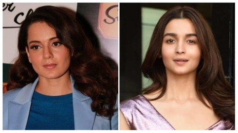 "Alia Bhatt responds to Kangana Ranaut telling her to ""grow a spine"""