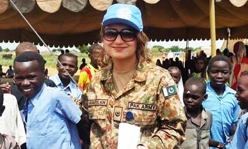 Islamabad meets UN Peacekeeping benchmark of 15pc female deployment