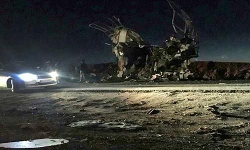 ایران: خودکش حملے میں ہلاکتوں کی تعداد 41 ہوگئی