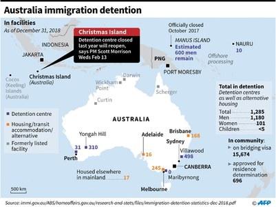 Australia to reopen migrant detention centre
