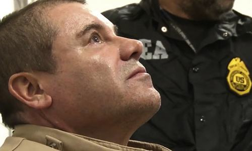 Mexican drug lord 'El Chapo' convicted