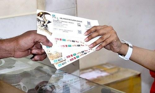 پاکستان میں پی ایس ایل میچز کے ٹکٹس کی فروخت کا آغاز آج سے ہوگا