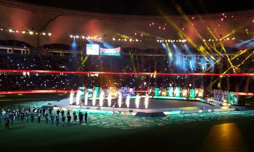 پاکستان سپر لیگ 2019 کا آغاز، شاندار افتتاحی تقریب