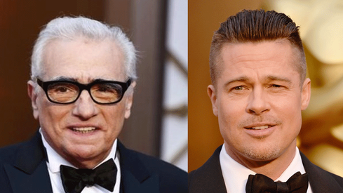 Martin Scorsese, Brad Pitt speak out against Oscars off-air awards plan