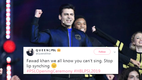 Twitter reviewed the PSL opening ceremony — and it did not hold back