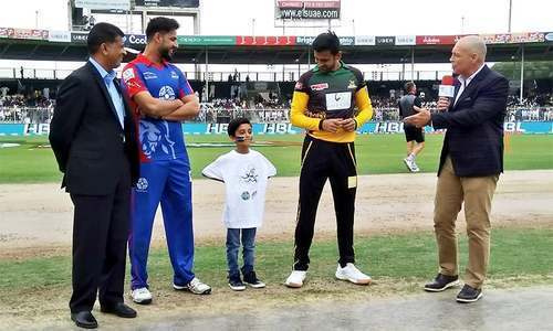 Karachi Kings win the toss, opt to bat first