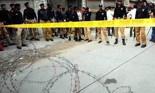 کراچی: فائرنگ سے جاں بحق پی ٹی آئی کے 2 کارکنوں کی نمازہ جنازہ ادا