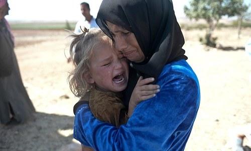 'جنگ کے باعث ہر سال دنیا بھر میں ایک لاکھ بچوں کی ہلاکت'