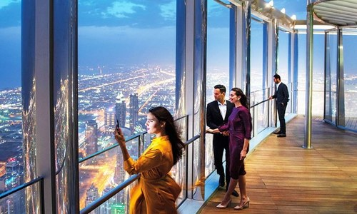 دنیا کا بلند ترین ہوٹل عوام کے لیے کھول دیا گیا
