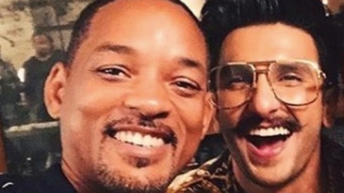 I'm loving what you're doing with Gully Boy, says Will Smith to Ranveer Singh