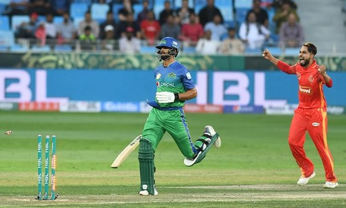 Sultans require 32 off final 4 overs to open PSL 2019 account