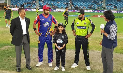 Karachi Kings opt to field first after winning toss against Lahore Qalandars