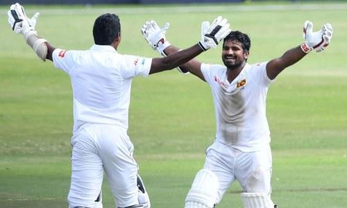 پہلا ٹیسٹ: سری لنکا کے پریرا نے جنوبی افریقہ سے جیت چھین لی