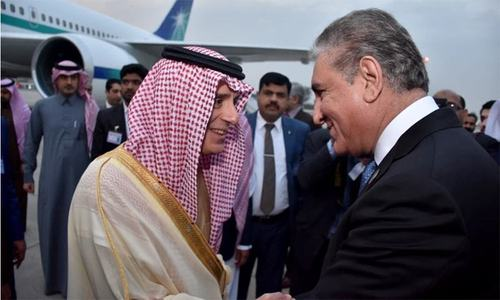 Saudi crown prince's plane enters Pakistani airspace, escorted by PAF jets
