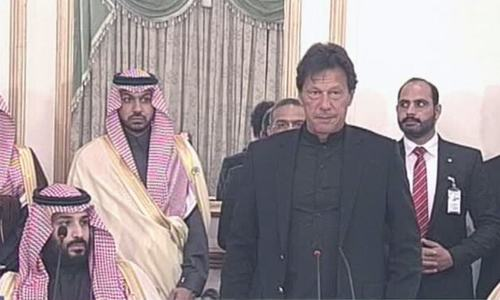 'This is a great day': PM Khan welcomes Saudi crown prince to Pakistan