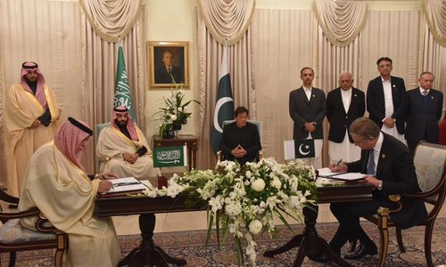 وزیراعظم کی محمد بن سلمان سے براہ راست ملاقات، معاہدوں پر دستخط