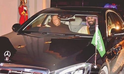 Saudi Crown Prince accorded rousing reception