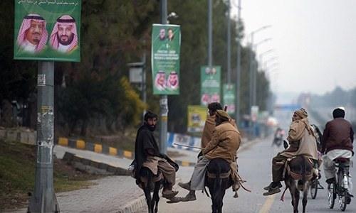 سعودی ولی عہد کی آمد: زیادہ تر شہری سیکیورٹی اقدامات سے پریشان نہیں