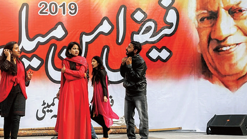 The 27th annual Faiz Amn Mela addressed social injustice, class division among other things