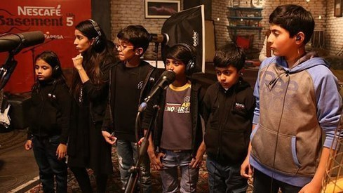 This 'all-kids band' is redefining love with its own rendition of Fakhre Alam's song for NESCAFÉ Basement