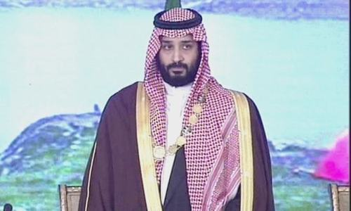 Saudi crown prince thanks President Alvi for conferring Nishan-e-Pakistan on him