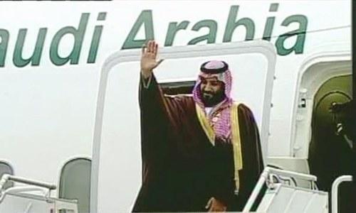 سعودی ولی عہد محمد بن سلمان کامیاب دورہ پاکستان کے بعد روانہ