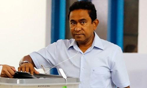 مالدیپ کے سابق صدر گواہوں کو رشوت دینے کے الزام میں گرفتار