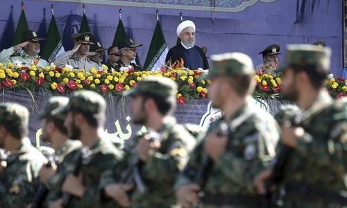 Iran arrests three terror suspects