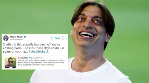 Here's how Shoaib Akhtar finally revealed the 'League' he has become part of