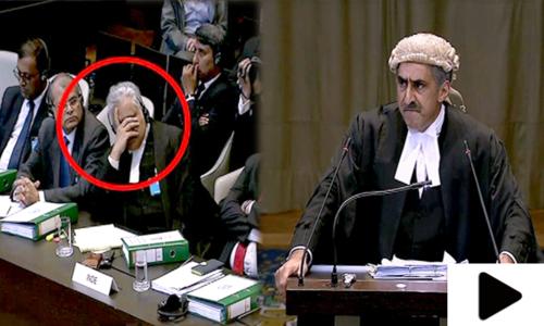کلبھوشن کیس: پاکستانی وکیل کے دلائل پر ہدوستانی وکیل پریشان