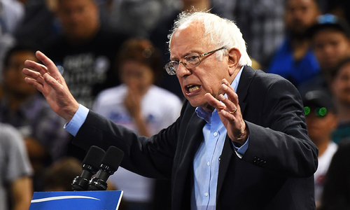 Bernie Sanders announces he is running for US president again