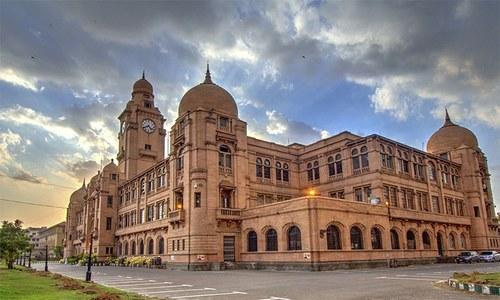 کراچی میں میونسپلٹی کی بنیاد کب اور کس نے رکھی؟