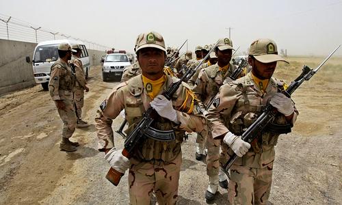پاسداران انقلاب پر حملہ پاکستانی نے کیا، ایرانی کمانڈر کا الزام