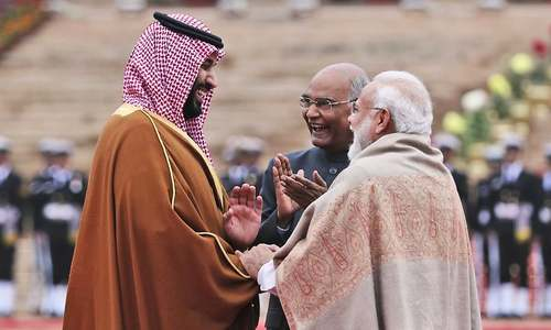 'Terrorism a common concern; Riyadh ready to share intelligence with New Delhi': MBS in India