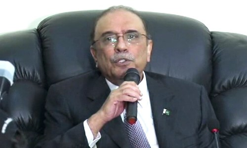 To arrest the speaker is to challenge democracy: Zardari