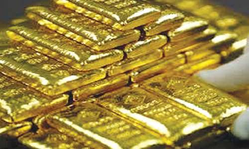Gold soars by Rs1,100 per tola