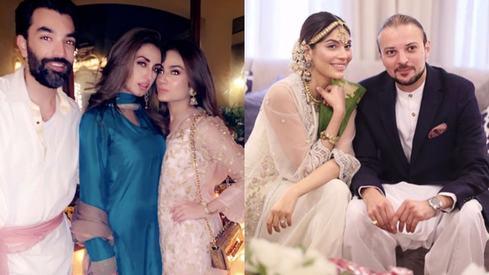 Inside Iman Ali and Amna Baber's intimate weddings