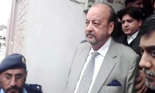 Agha Siraj Durrani remanded into NAB's custody until March 1