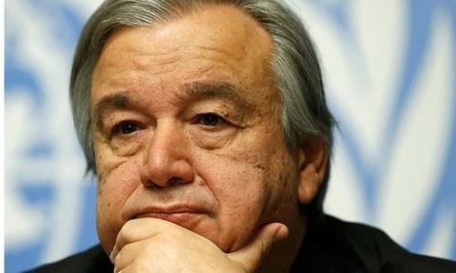 اقوام متحدہ کا پاکستان اور بھارت سے کشیدگی میں کمی کا مطالبہ