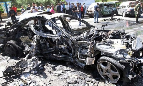 Car bombing kills 20 near anti-IS base in Syria