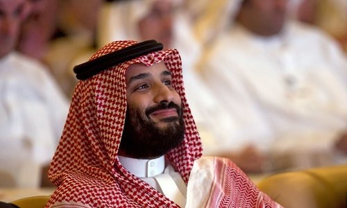 Saudi crown prince meets Chinese official on Beijing visit