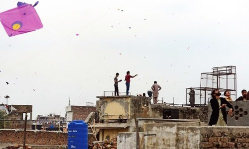 Woman, five-year-old killed due to firing in the air on basant