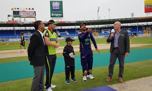 Lahore Qalandars to bat first after losing toss to Quetta Gladiators