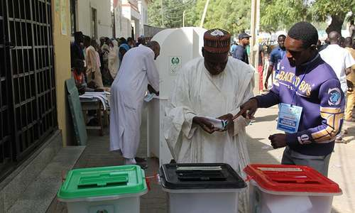 Troops fight off Boko Haram in NE Nigeria before polls