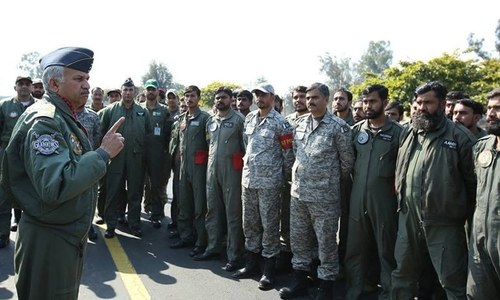 PAF ready to 'thwart any misadventure by the enemy', says air chief