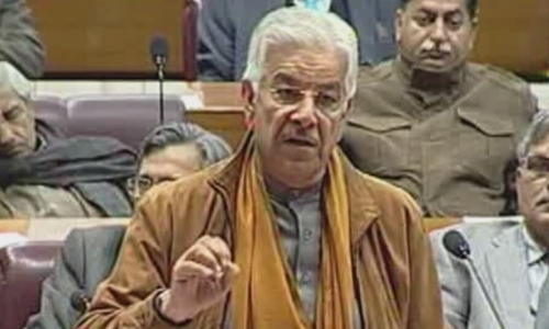 Khawaja Asif calls on lawmakers to put differences aside after India's LoC violation